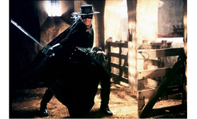 Mask of Zorro Hidalgo Mexico
